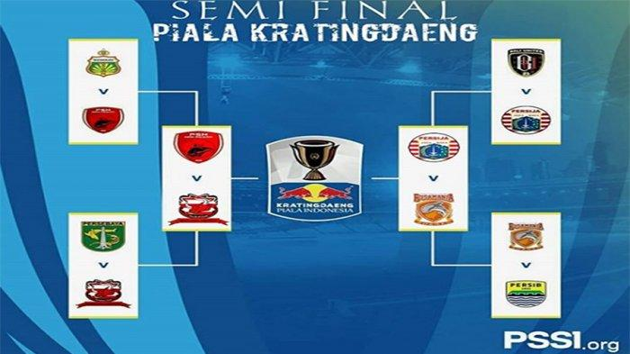 Link Live Streaming Semi Final Piala Indonesia-PSM Makassar Vs Madura United di RCTI Pukul 15.30 WIB