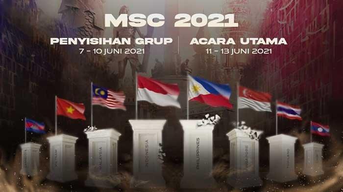 DAFTAR Tim MSC 2021 dari 8 Negara, EVOS Legends & Bigetron Alpha Wakili Indonesia Rebut Rp 2 Miliar