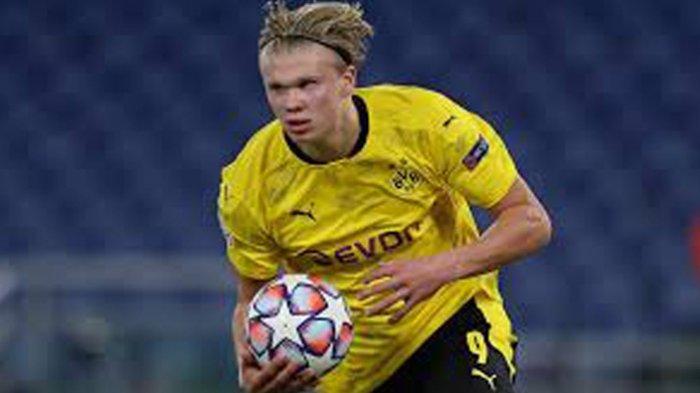 Daftar Top Skor Liga Champion Striker Borussia Dortmund Erling Haaland Memimpin dengan 10 Gol