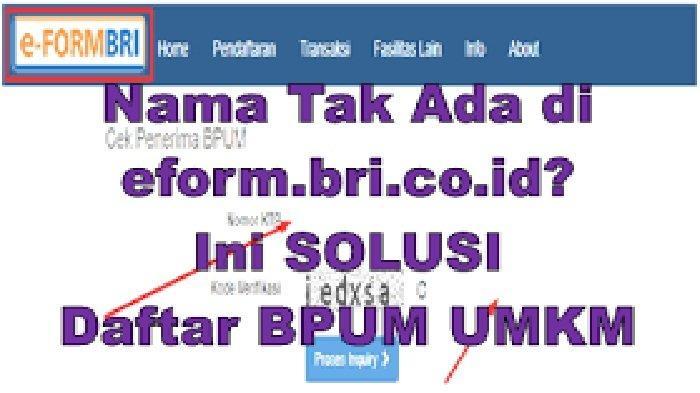 Daftar UMKM Eform BPUM Login www.depkop.go.id Daftar UMKM Online 2021 Dapat Rp 2,4 Juta