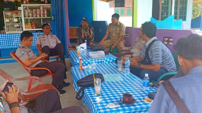 Kapolsek Belitang Koordinasi Kamtibmas dengan Masyarakat, Ajak Cegah Karhutla