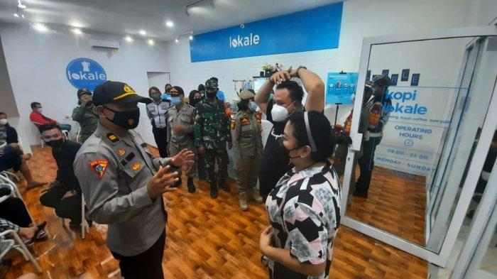 Polres Melawi dan Satgas Covid- 19 Lakukan Imbauan dan Pengawasan di Kafe dan Warkop