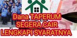 Dana Taperum PNS Cair 19 Januari 2021 Langsung Transfer Rekening Pensiunan PNS, Lengkapi Syaratnya