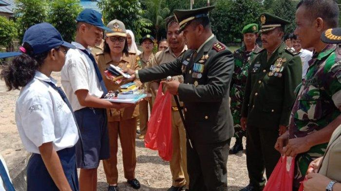 Korem 121/ABW Terus Gencarkan Program Petasan di SMP Negeri 1 Jagoi Babang