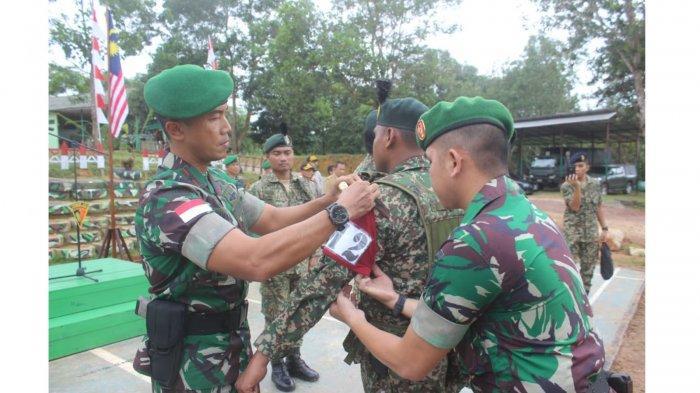 2 Tim Gabungan TNI AD dan TDM lakukan Patkor Bersama