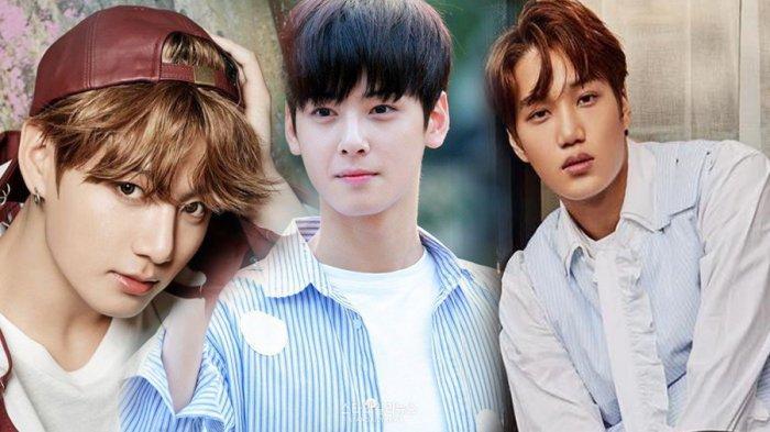 Idol Cowok Korea yang Tetap Cakep Saat Menangis, Dari Cha Eun Woo ASTRO Hingga Jungkook BTS