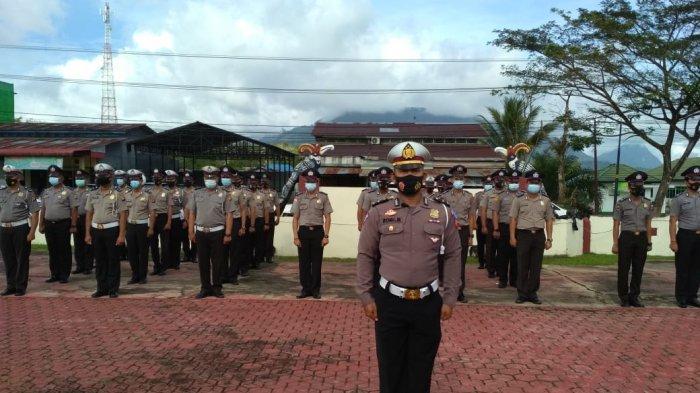 87 Personel Polres Bengkayang Naik Pangkat, Kapolres: Semoga Beri Motivasi Dalam Melaksanakan Tugas
