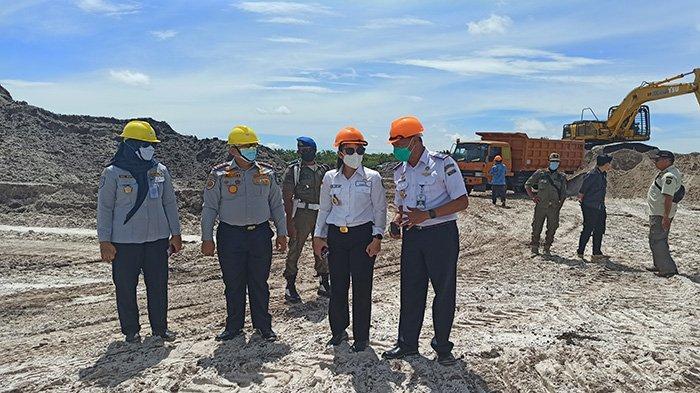 PROGRES Pembangunan Bandara Singkawang, Pengerjaan Land Clearing Sudah Mencapai 30 Persen
