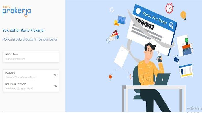 Https Dashboard Prakerja Go Id Login Prakerja Gelombang 10 Sudah Buka Terus Gagal Ini Sebabnya Tribun Pontianak
