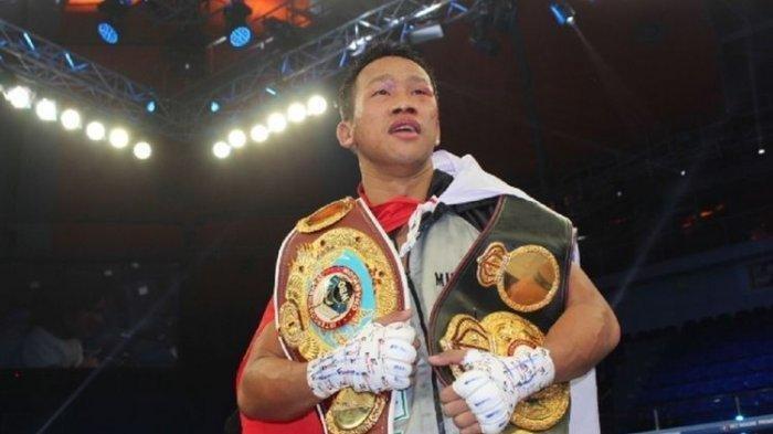 Dampak Wabah Virus Corona, Pertarungan Tinju Daud Yordan di Singapura Ditunda