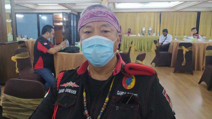 Ketum Garda Borneo, David Oendoen
