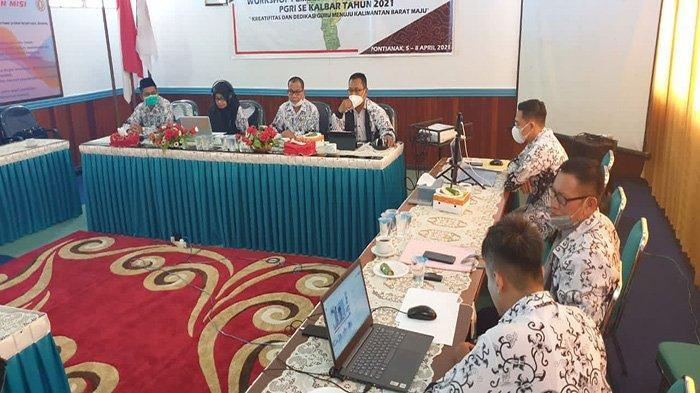 PGRI Provinsi Kalbar Komitmen Terus Lakukan Peningkatan SDM Bidang Pendidikan