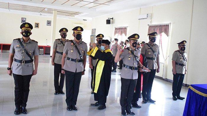 Kapolres Sekadau Pimpin Sertijab Empat Pejabat Polisi di Lingkungan Polres Sekadau
