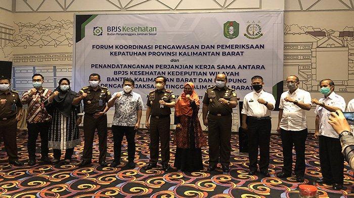 Forum Kordinasi BPJS Kesehatan Bakalbalam Bahas Pengawasan dan Pemeriksaan Kepatuhan di Kalbar