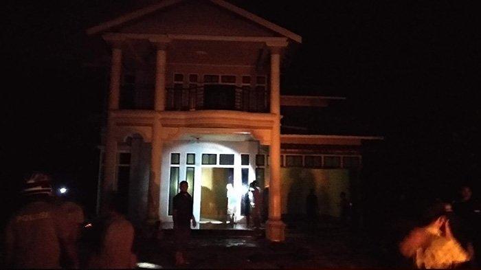 BREAKING NEWS Satu Unit Rumah di Sukadan Nyaris Ludes Dilahap Api