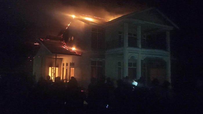 Kebakaran Rumah di Sukadana, Kepala BPBD Ungkap Alasan Pihaknya Terlambat Tiba di Lokasi