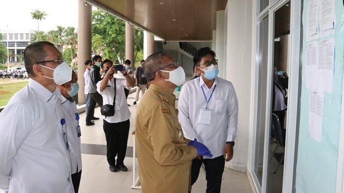 Gubernur Sutarmidji Pantau Penerapan Prokes pada Pelaksanaan Test UTBK di Untan