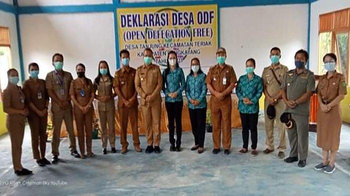 Bupati Sebastianus Darwis Deklarasi Open Defecation Free, Guna Jaga Lingkungan dan Kebersihan