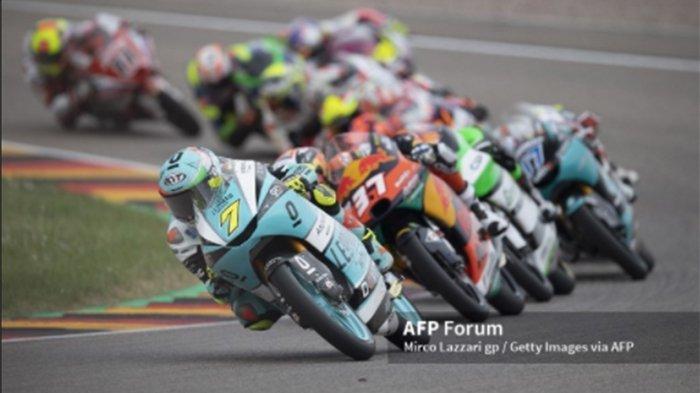HASIL FP3 MotoGP Aragon 2021 Hari Ini, Dennis Foggia Terdepan di Moto3, Tim Indonesia Keberapa ?