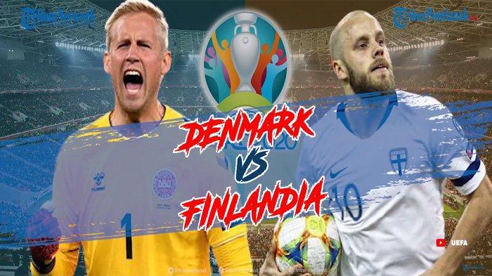 RCTI Live Streaming Euro 2021 Denmark Vs Finlandia , Bisa Juga Nonton Live Streaming Mola TV Disini