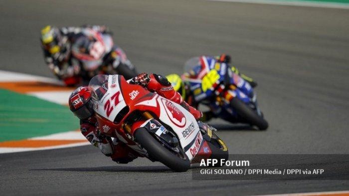 Dennis Foggia Juara Moto3 Aragon 2021 Hari Ini, Cek Posisi Andi Gilang