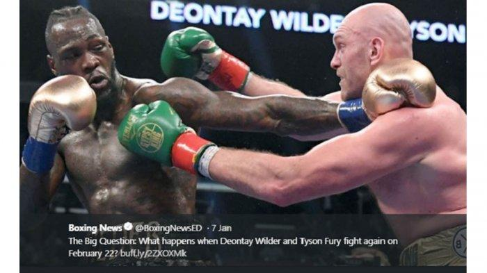 Live Streaming Deontay Wilder vs Tyson Fury II