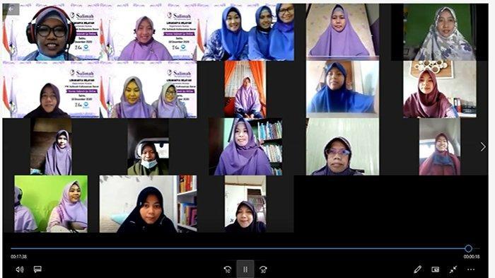 Departemen Humas PW Salimah Kalbar Sukses Gelar Lokwil