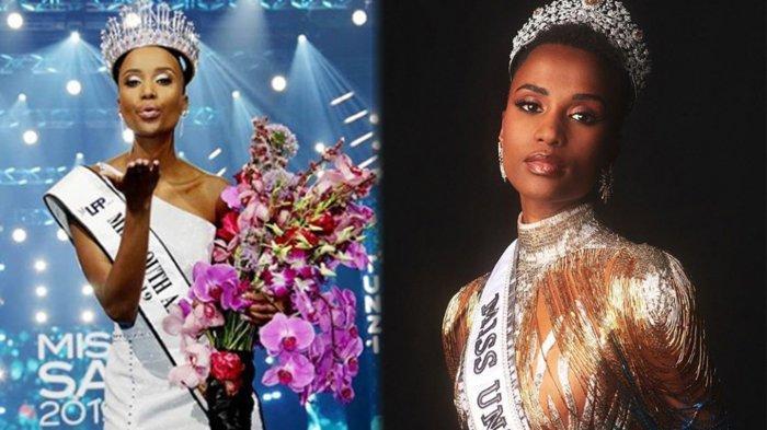 DERETAN Fakta Miss Universe 2019 Zozibini Tunzi, Pernah Gagal Miss Afrika Selatan, Kini Ukir Sejarah