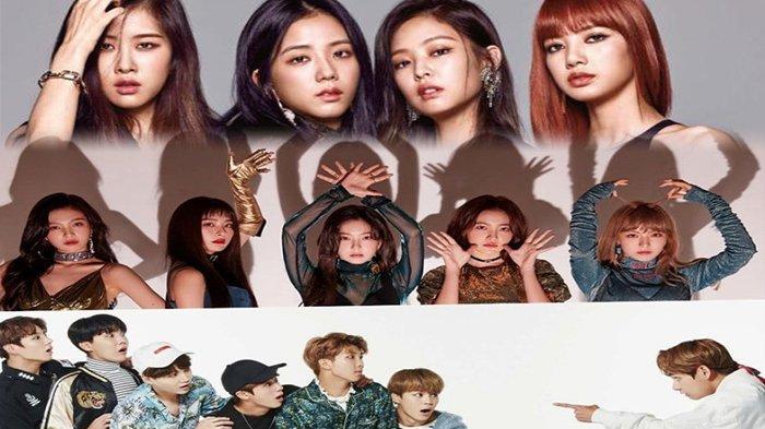 Deretan Momen Kaget Member 11 Grup Idola K-Pop, Reaksi Jin BTS hingga Jennie BLACKPINK Bikin Ngakak