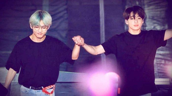 Deretan Momen Kebersamaan V BTS dan Jungkook, Bukti Keakraban Istimewa TaeKook Couple