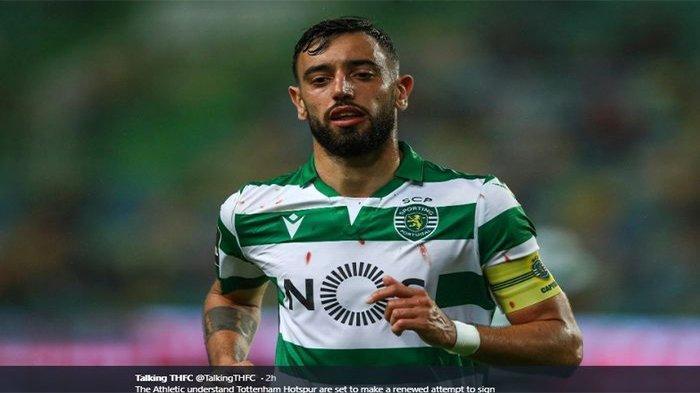 DETAIL Transfer Bruno Fernandes ke Manchester United dari Sporting CP