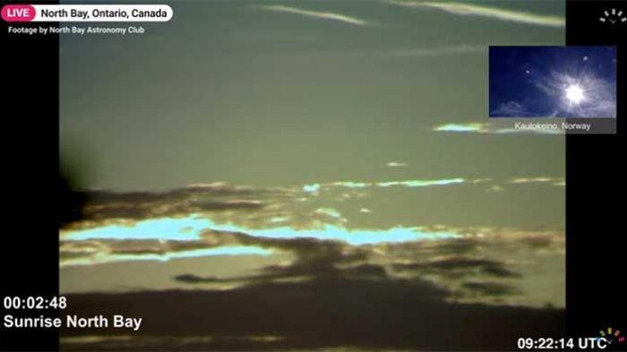 DETIK-DETIK Siaran Langsung Gerhana Matahari Cincin Api Terlihat Begitu Indah Sore Ini Kamis 10 Juni