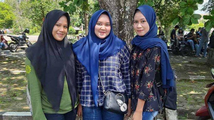 3 Gadis Cantik Alumni SMAN 2 Pontianak Yakin Lulus Seleksi Jalur Mandiri di Untan