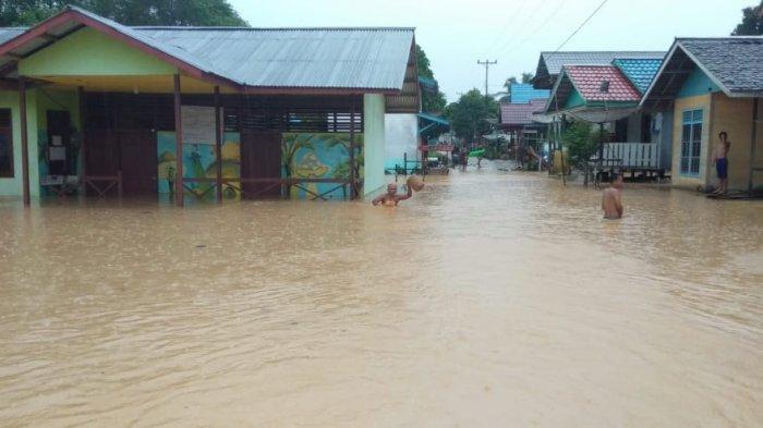 BPBD Sampaikan Banjir di Sejumlah Daerah di Kapuas Hulu Sudah Berangsur Surut