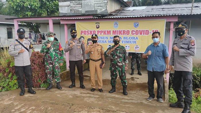 Berlakukan PPKM, Sejumlah Warga Dusun Mega Blora Pertanyakan Transparansi Informasi Data Covid-19