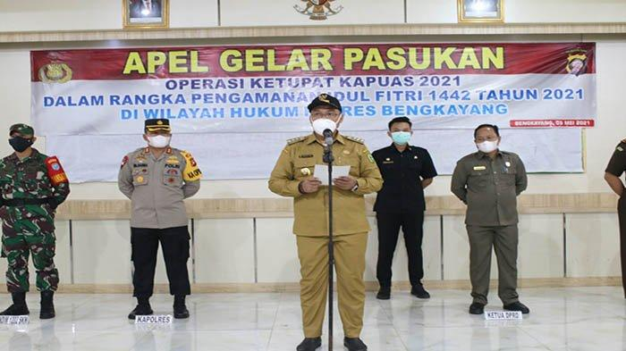 Pelaksanaan Operasi Ketupat 2021, Bupati Darwis Imbau masyarakat Disiplin Patuhi Prokes
