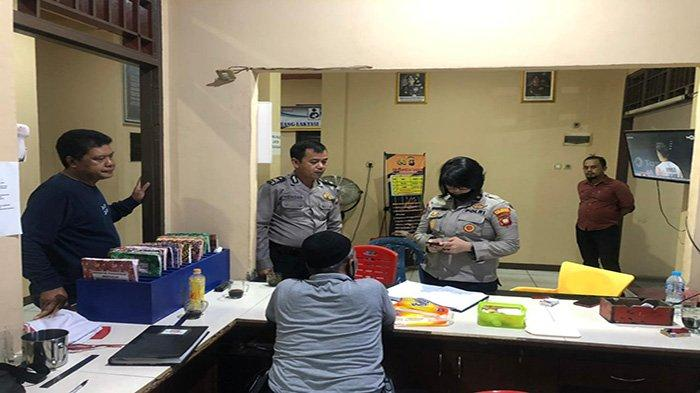 Kabag Sumda Polresta Pontianak Kota Kompol Sandhi Kunjungi Polsek Pontianak Timur