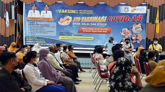 Vaksinasi Massal di Kubu Raya Sasar Masyarakat Umum, Muda Mahendrawan Targetkan 5000 Penerima