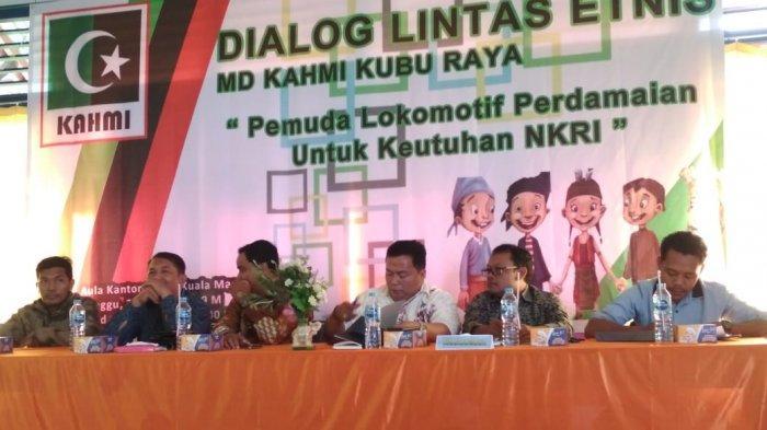 Kahmi Kubu Raya Gelar Dialog Lintas Etnis hingga Bentuk Duta Perdamaian