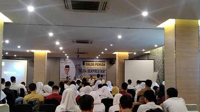 Hadiri Dialog Pemuda, Edi Kamtono: Jadikan Pemuda yang Sukses sebagai Motivasi