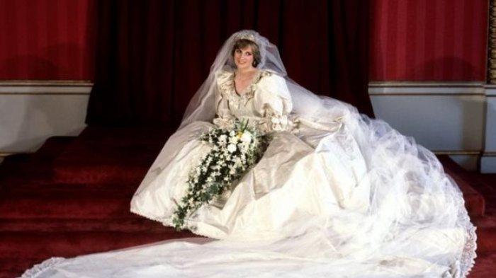 Lama Tak Terlihat, Barang Berharga Putri Diana Ini Tiba-tiba Ada di Pernikahan Keponakannya
