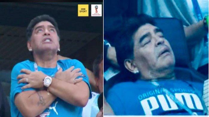 Argentina Lolos, Maradona Masuk Rumah Sakit hingga Makna Selebrasi Jorge Sampaoli