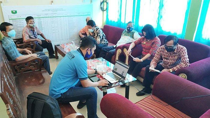 Serah Terima Website PPID di Kecamatan Noyan, Permudah Masyarakat Akses Informasi