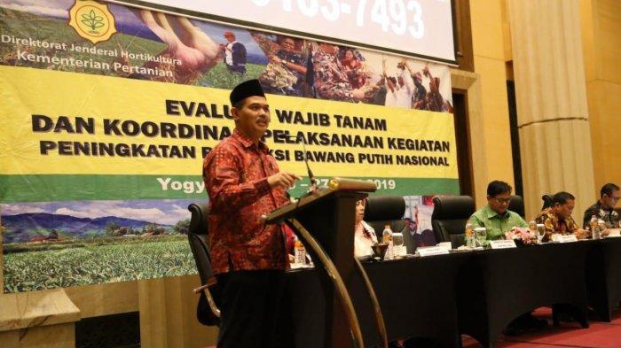 Evaluasi Wajib Tanam Bawang Putih, Kementan Ajak Semua Pihak Wujudkan Swasembada 2021