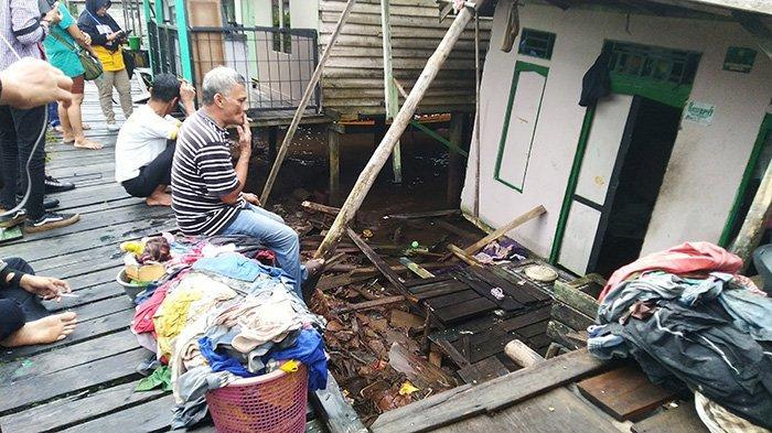 Cerita Pemilik Rumah di Pontianak Timur yang Roboh Diterjang Angin Kencang