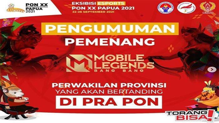 Divisi Mobile Legends di PON XX Papua Resmi Digelar Tanpa Pro Player, Cek Daftar Nama Roster Lengkap