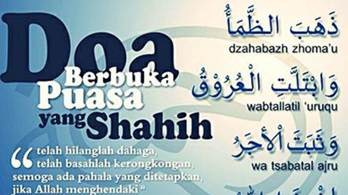 Doa Buka Puasa Sunah Ayyamul Bidh 13 14 15 Bulan Rajab Atau 21 22 23 Maret 2019 Tribun Pontianak