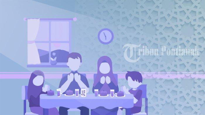 DOA NIAT Puasa Ramadhan Saat Sahur & Bacaan Doa Buka Puasa Lengkap Doa Sebelum dan Sesudah Makan
