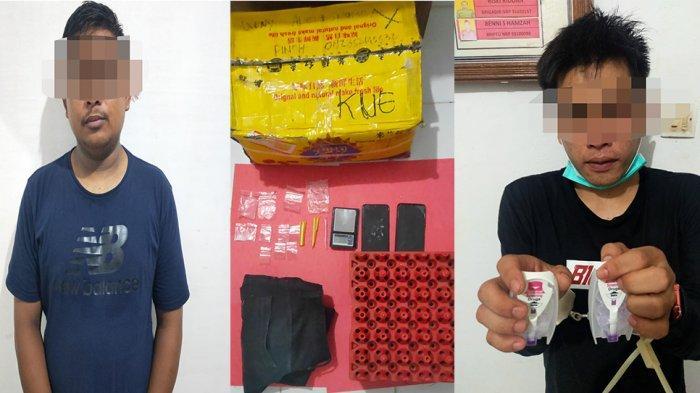 Kedapatan Miliki Narkoba, Dua Warga Pontianak Ditangkap Jajaran Polres Melawi