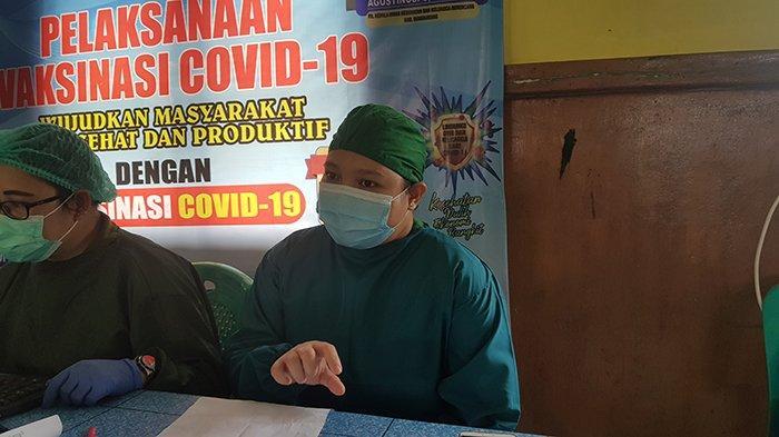 dr Merry Sampaikan Anjuran Tensi Darah Penerima Vaksinasi